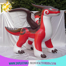 Hot Inflatable Zenith Dragon Promotional PVC Red Dragon