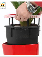 new and high technology products &self-watering flower pot &Triangle flowerpot SJ01