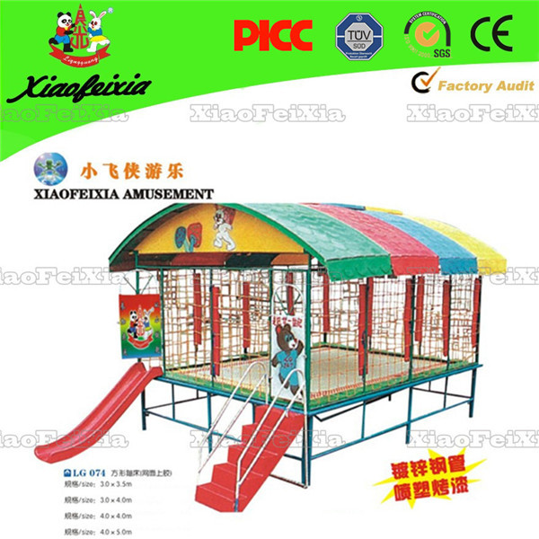 popular jump trampoline with tent