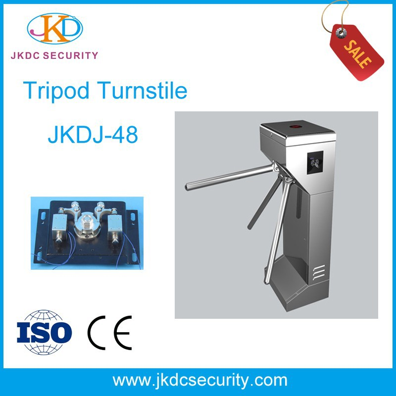 High Quality Semi-automatic Access Control Price Tripod Turnstile Gate Bi-direction Hs Code Tripod Turnstile