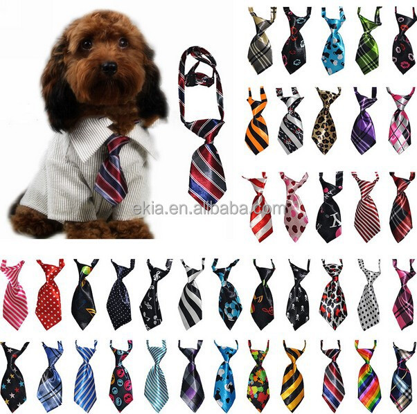 Manufacturer OEM Fashion Dog Grooming Products, Luxury Silk Dog Bow Tie