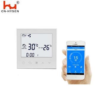 Wifi 7 Days Programmable 230V 50Hz Wall Mounted Air Conditioner Thermostat