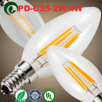Led lights A60 4W 2700K E27 dimmable led filament bulb electric bulb greece g4 led bulb