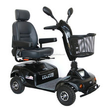four wheel electric mobility scooter for shopping use