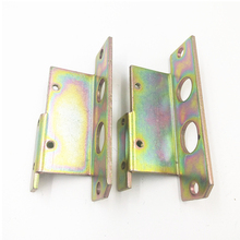 Customized 0.1mm-20mm thickness carbon steel stamping part with zinc plating