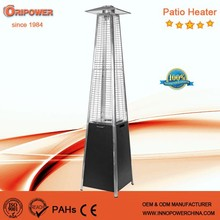 Hot Sell CE/ETL/AGA approval Pyramid real flame gas patio heater