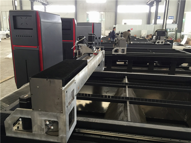 500W 700W 1000W cnc sheet metal fiber laser cutting machine price fiber lazer cutter