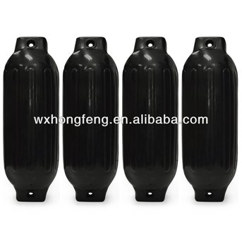 two eyes cylindrical pvc ship fender