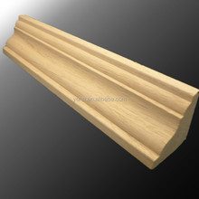 European Style Wood Crown Moulding Cornice for Wainscot, Ceiling decoration