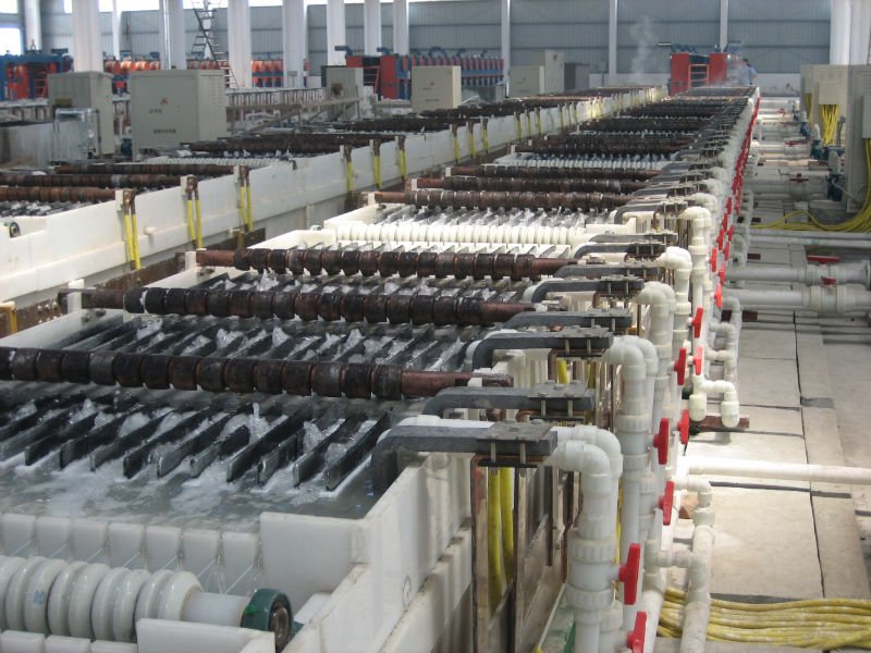 Steel Wire Electro Galvanizing Production Line