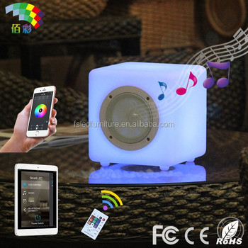 Night Light Table Lamp Portable Bluetooth Car Music Player
