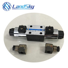 LandSky 4WE10Z20/AW220-50N25L high pressure double acting operated hydraulic solenoid valve