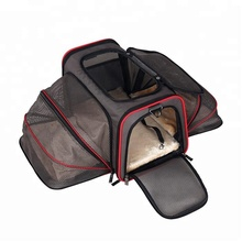Airline approved Portable Dog Carrier Bag soft crate for dogs