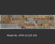 Multicolor Natural Stones for Exterior Wall House