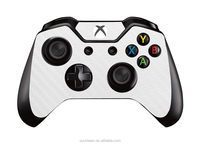 6 Colors PVC Carbon Fiber Skin Sticker For Microsoft For Xbox one Controller