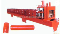Ridge Tile Making Machine Metal Colored Steel Roofing Arch Sheet Roll Forming Machine Roof Ridge Cap Forming Machine