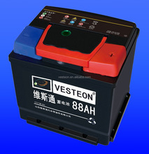 MF and dry car battery 12v 88ah