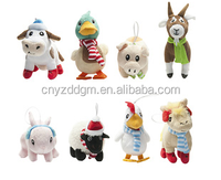 custom Farmville collectible Plush features toy/wholesale animal stuffed toys