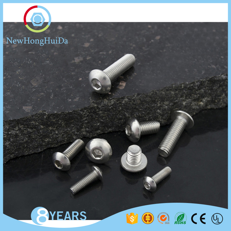 China fastener manufaturer 304 stainless steel <strong>M10</strong> machine <strong>screws</strong>