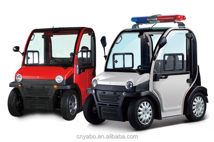 60V 2.8KW 2 seat small cars cheap eenclosed electric scooters 4 wheel with EEC Approved