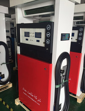Double nozzles tatsuno fuel dispenser for gas station