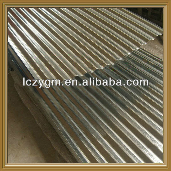 Hot dipped Galvanized Corrugated Iron Roof Sheets
