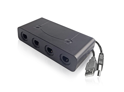 Gamecube Controller Adapter, Gamecube NGC ControllerS Adapter for Wii U,Nintendo Switch and PC
