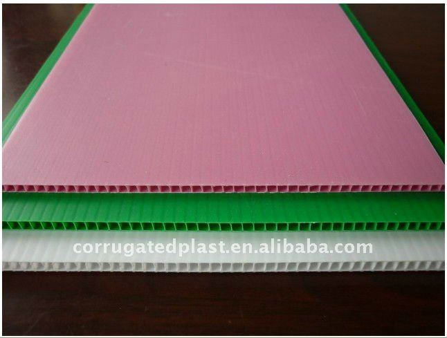 Extruded Corrugated PP Plastic Board