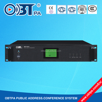 OBT-8910 30 fire alarm signals input Voice Evacuation System, Background Music System, Public Address System