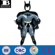 OEM PVC inflatable batman small soft vinyl anime toys cartoon figure blow up toy