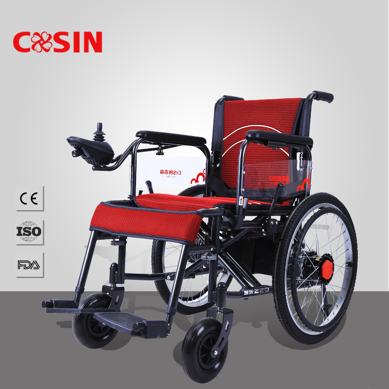 foldable electric wheelchair handicapped power wheel chair, View ...