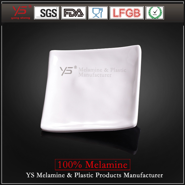 SGS certified high quality imitation porcelain food warming plate