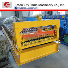 2014 Canton Fair, Innovated SB820 corrugating roofig machinery for building material