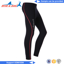 New arrival and neoprene custom surfing rash guard tight pants compression weat suit