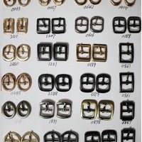 Oval Shape Pin Buckle She Parts