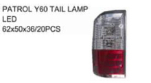 FOR NISSAN PATROL 02'-03' Auto Car tail lamp tail light LED