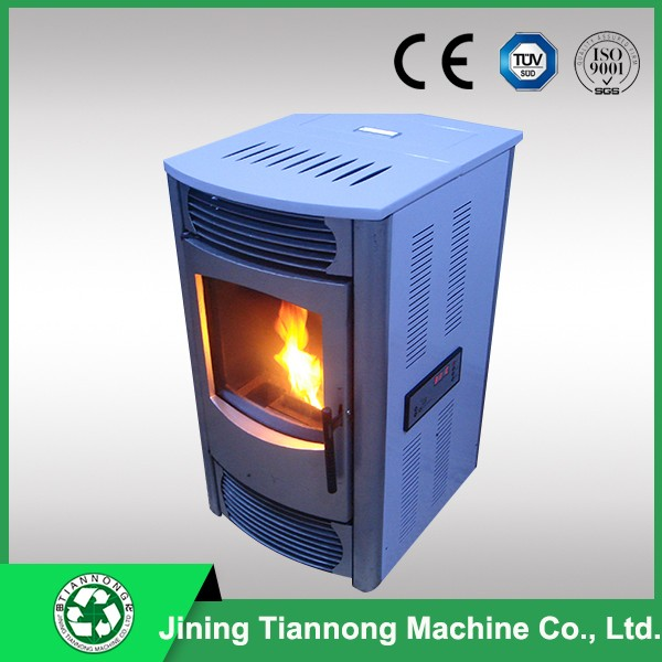 Pellet stove for central heating with radiators-Grace
