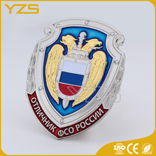 Custom Attractive Designs transparent rotary badge