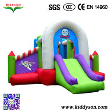 Inflatable bouncy castle with slide,Neverland Toys Colorful inflatable jumping castles,Inflatable jumping castle