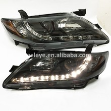 LED headlights for TOYOTA Camry 2007-2009 year North America Version LED Front lamp Black housing SN