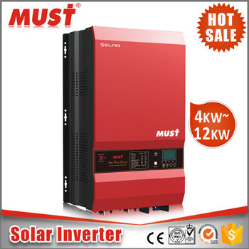 MUST Well Inverter 8kW 48V 220V DC-AC Power Inverter 8000watt