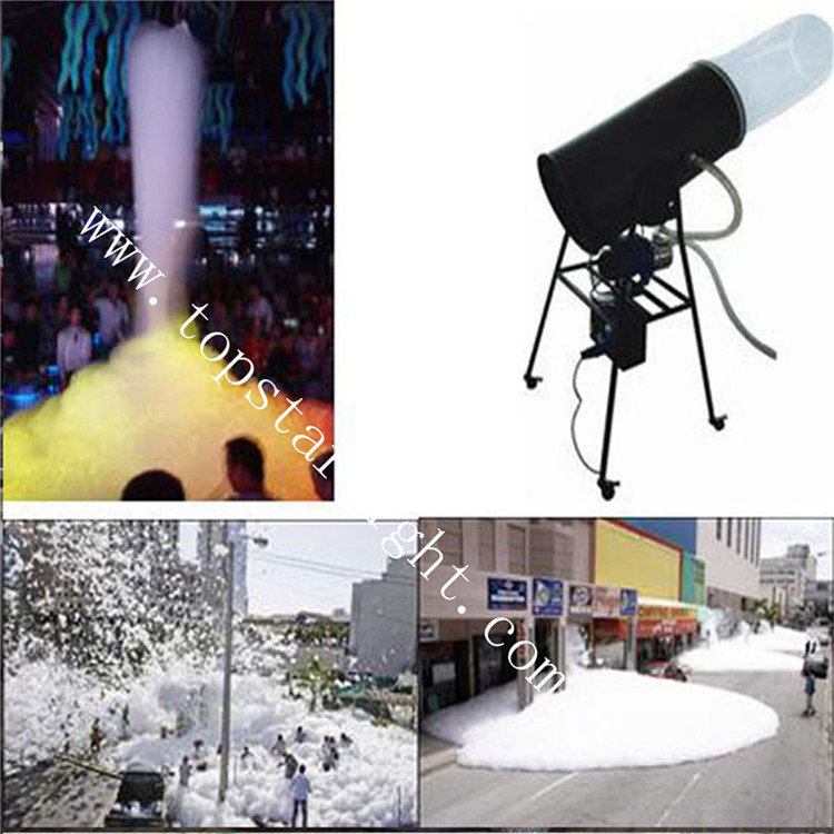 CE Certified Stage Light Manufacturer Snow Spray 3m Foam Machines For Sale