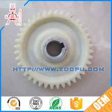 High precision small eco-friendly nylon pinion helical gear