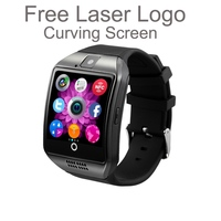 Best selling items Stainless steel hd ips screen micro sim card watch phone