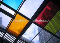 skylight tempered laminated glass with CE&CCC certificate