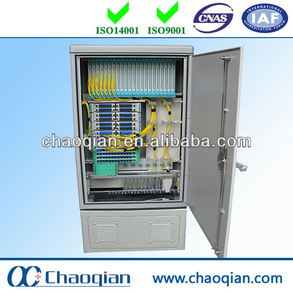 Telecommunication Fiber Optic Splice Outdoor Cabinet