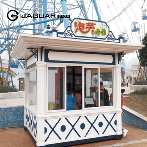Manufacturer Custom Assembly Type Outdoor Coffee Kiosk Retail Ice Cream Kiosk