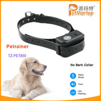 TZ-PET850 Dog No bark Collar with Sound & Shock Dog Training,Sensitivity Adjustable