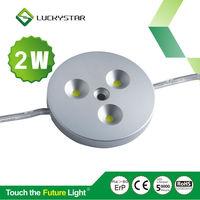 50000h life 2W led lighting under kitchen cabinet 12V