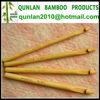 Hot Sell Bamboo Crochet Needles